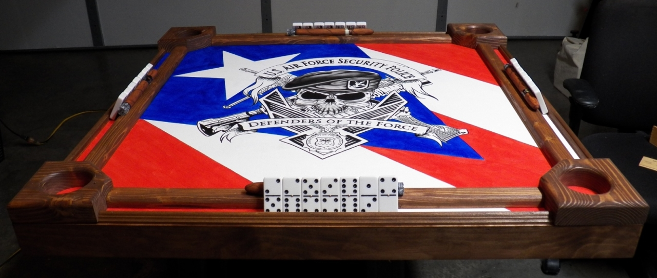 Security Force Domino Table