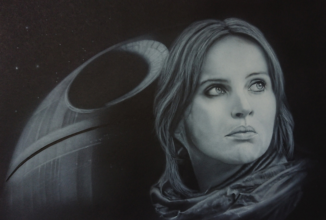 Quick jyn erso but finished.