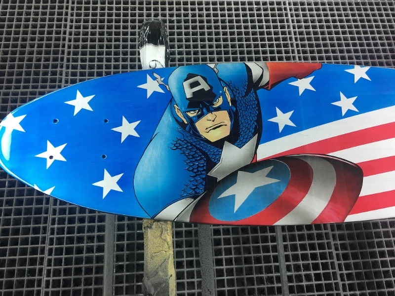 Captain America Board