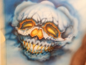 Beginners airbrush fumblings