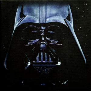 Vader on Canvas