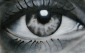 airbrush tutor eye