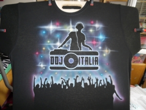 T-shirt for DJ