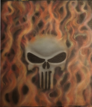 Punisher Flames